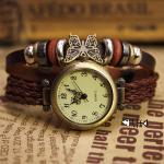 Bohemian Leisure Rope Bracelet Watch-butterfly