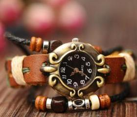 Vintage National Style Bracelet Watch